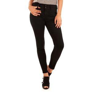 Wallflower • Luscious Curvy Fit Skinny Black Jeans